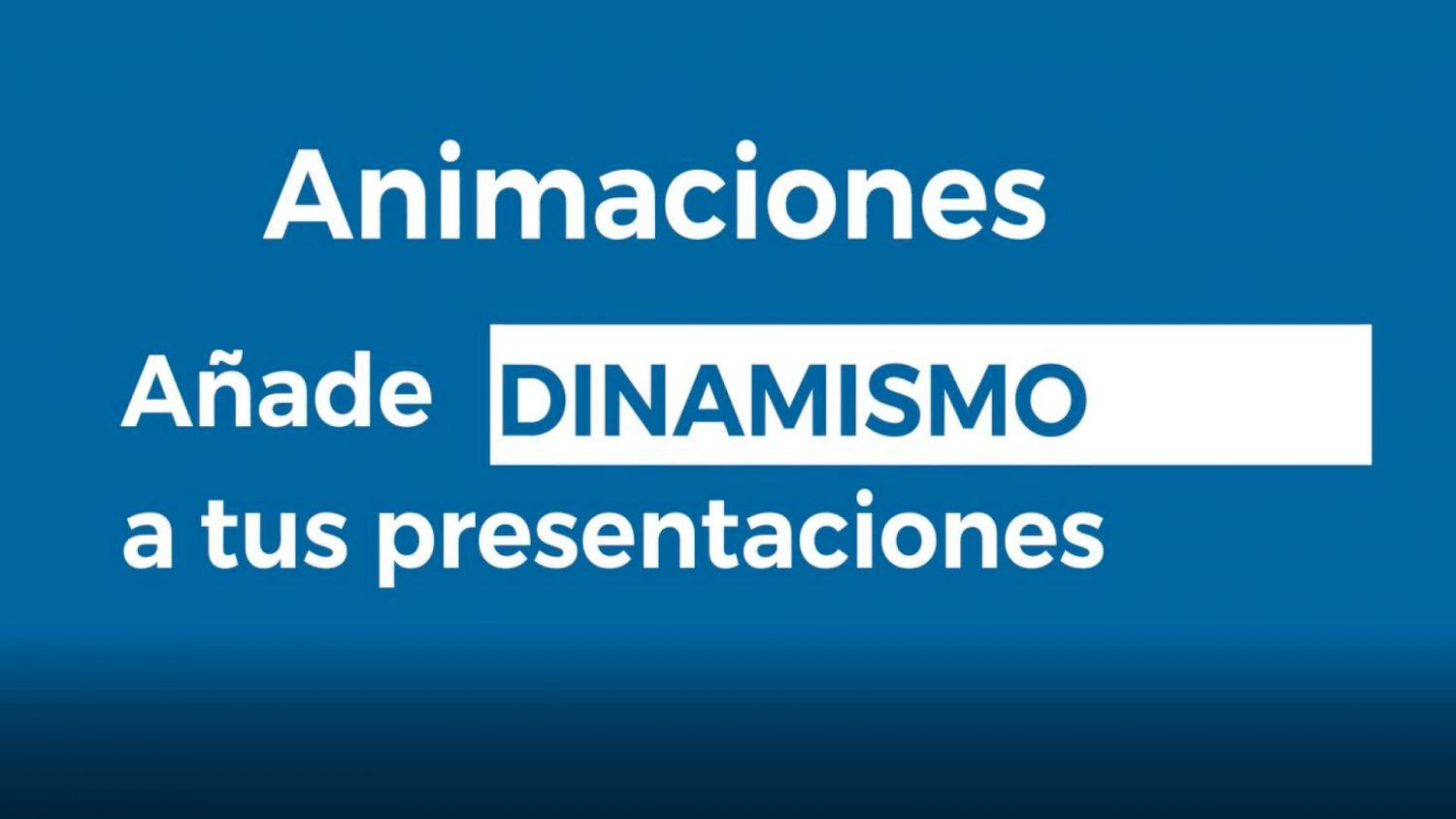 Point Out: Animaciones